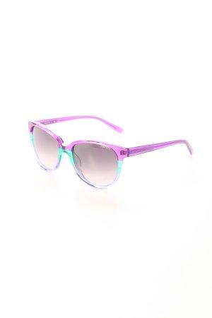 Esprit eckige Sonnenbrille Streifenmuster