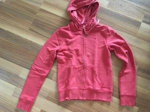 Esprit edc Damen Sweat-Jacke, rot, Größe 36 S