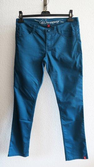 Esprit Pantalone cinque tasche petrolio-blu cadetto