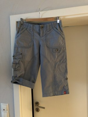 edc by Esprit 3/4 Length Trousers slate-gray