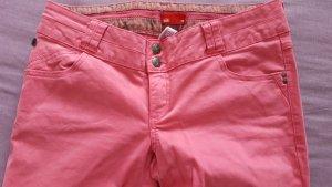 Esprit EDC Hose Regular Stoffhose 40 42 rosa wie neu Skin