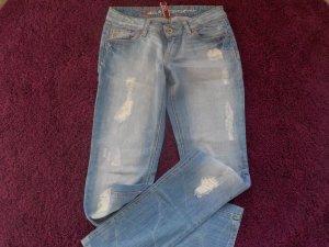 Esprit EDC Jeans 27/32 Used Look