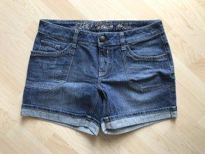 Esprit / Edc Jeans Shorts Inch 31 Gr 40/42 blau