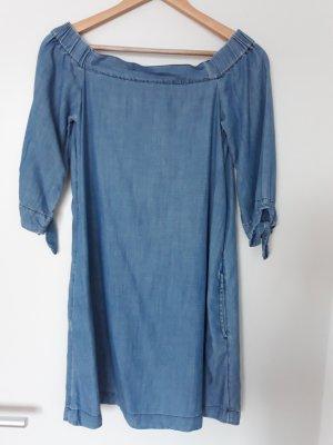 edc by Esprit Off-The-Shoulder Dress blue
