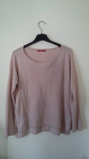 Esprit edc Pullover rosa rosé rosameliert Rundhalsausschnit