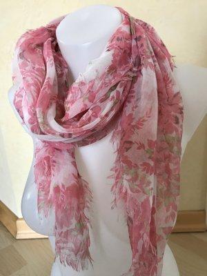 Esprit / edc Schal mit Blumenmuster Pink