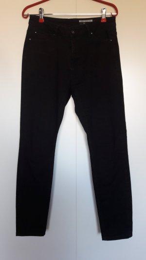Esprit edc schwarze Skinny Fit Jeans Highwaist W28 L30