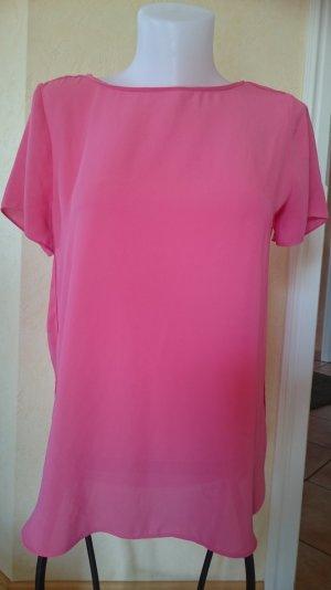 Esprit / Edc T-Shirt / Bluse Gr 38 Rosa