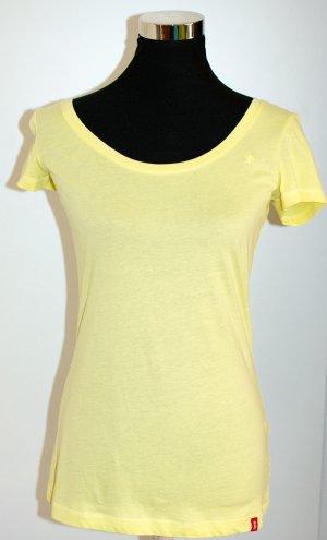 ESPRIT EDC T-Shirt hellgelb, ungetragen, tolle Passform, Gr. S / 36