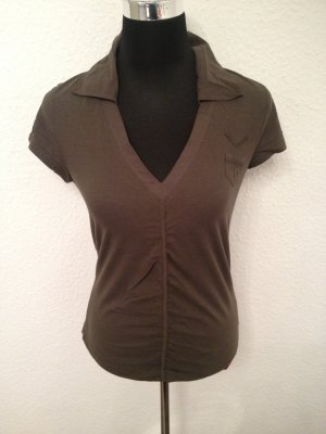 Esprit- Edc T-Shirt mit V-Ausschnitt
