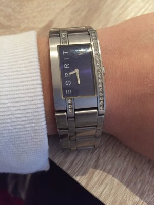 Esprit Edelstahl Uhr im klassischen Design
