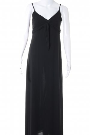 Esprit Vestido corte imperio negro Patrón de tejido look casual