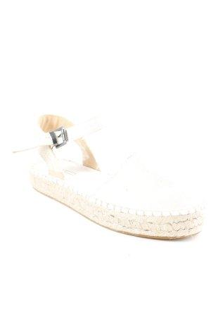 Esprit Espadrillas crema-beige stile casual