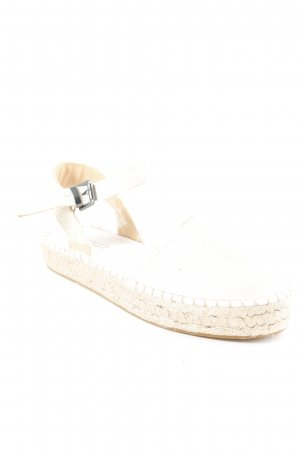 Esprit Espadrilles-Sandalen creme-beige Casual-Look