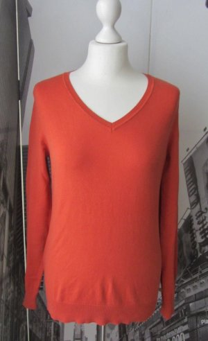 ESPRIT Essentials Basic Pullover Gr. M orange wenig getragen