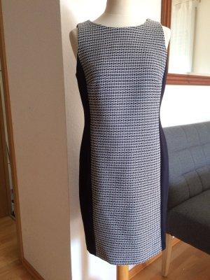Esprit Etui Kleid schwarz / weiß Größe 40
