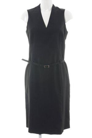 Esprit Etuikleid schwarz Streifenmuster klassischer Stil
