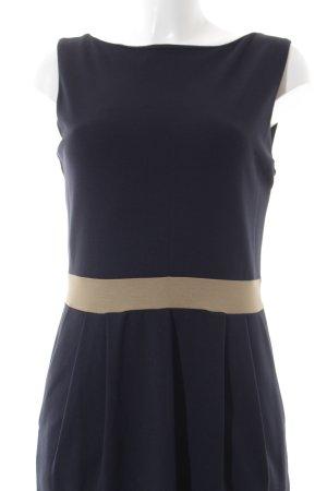 Esprit Etuikleid dunkelblau-beige Casual-Look