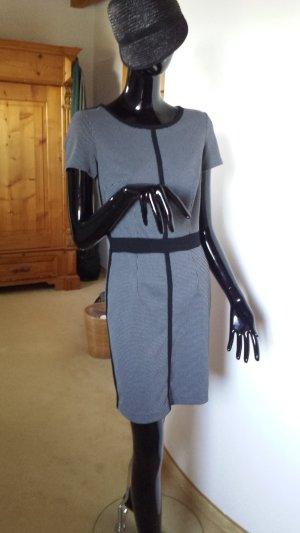 Esprit Vestido ceñido de tubo negro-blanco