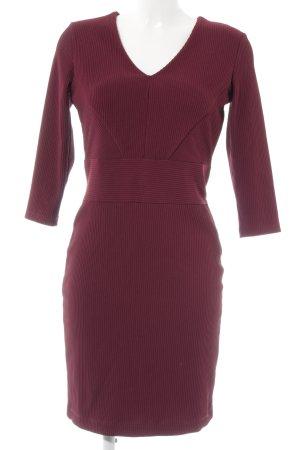 Esprit Etuikleid purpur Streifenmuster Business-Look
