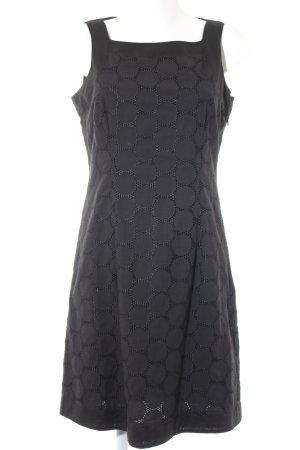 Esprit Robe fourreau noir-bleu foncé motif de tache style décontracté