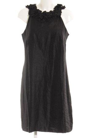 Esprit Robe fourreau noir style mouillé