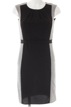 Esprit Etuikleid schwarz-weiß Business-Look