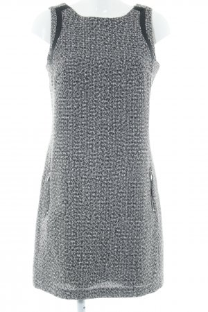 Esprit Sheath Dress black-white weave pattern business style