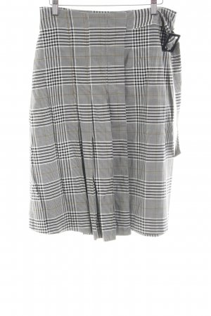 Esprit Jupe à plis gris clair imprimé allover style d'affaires