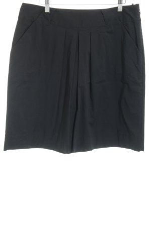 Esprit Faltenrock schwarz Casual-Look