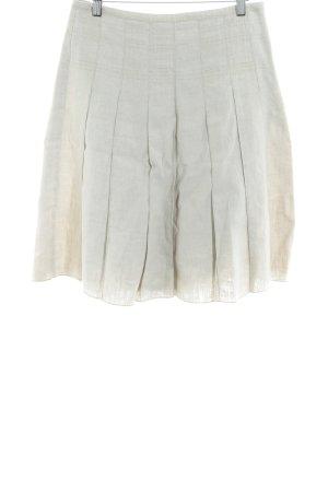 Esprit Plaid Skirt cream casual look