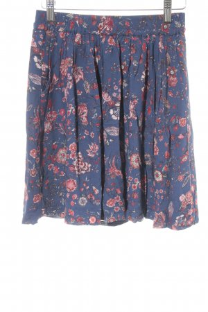 Esprit Plaid Skirt floral pattern casual look