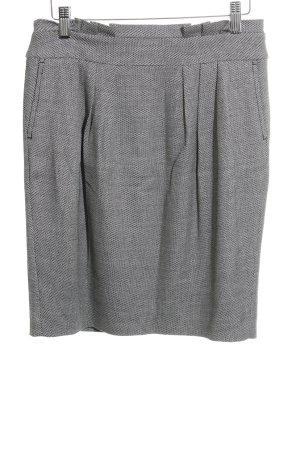 Esprit Jupe à plis gris clair-noir moucheté style d'affaires