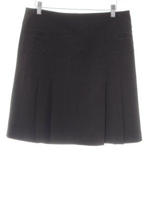 Esprit Faltenrock schwarz Elegant