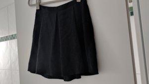 Esprit Falda a cuadros negro Algodón