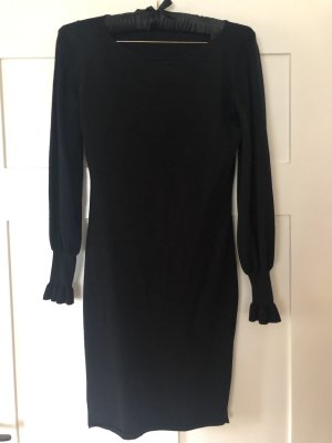Esprit Feinstrick Kleid schwarz Gr. 36