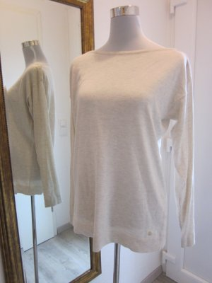 #Esprit feinstrick Pullover Klassisch Beige Gr L Leicht