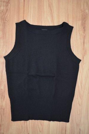 ESPRIT Feinstrick Top, schwarz, Größe XS
