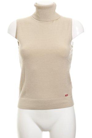 Esprit Cardigan en maille fine beige clair style décontracté