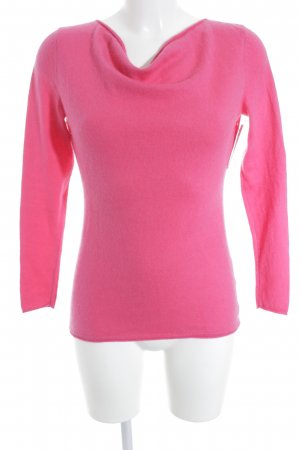 Esprit Fine Knitted Cardigan magenta athletic style