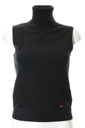 Esprit Fijn gebreide cardigan zwart casual uitstraling