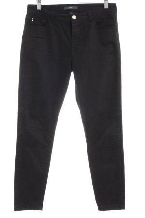 Esprit Pantalon cinq poches noir style décontracté
