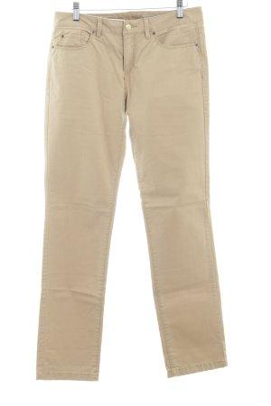 Esprit Pantalón de cinco bolsillos marrón arena look casual