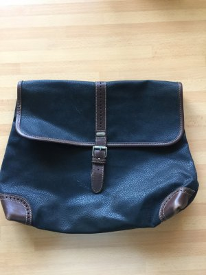 Esprit Business Bag brown-dark blue