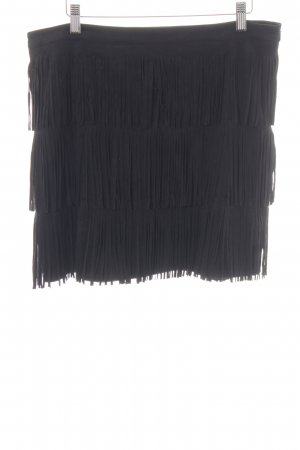 Esprit Franjerok zwart casual uitstraling