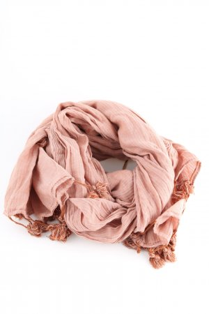 Esprit Fringed Scarf nude casual look