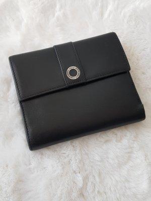 ESPRIT Geldbeutel/Portemonnaie, schwarz, Leder