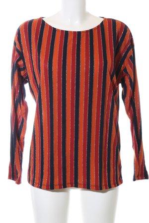 Esprit Glanzende blouse gestreept patroon casual uitstraling