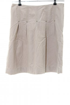 Esprit Flared Skirt natural white casual look