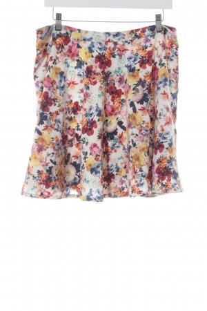 Esprit Flared Skirt flower pattern casual look